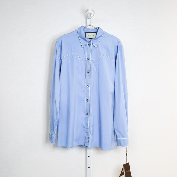 384265392 Gucci Tops | Western Button Down Shirt | Poshmark